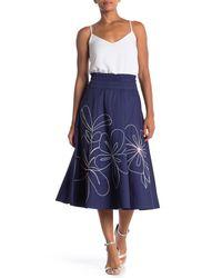 Parker - Blue Wen Skirt - Lyst