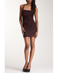 Sky - Multicolor Shimmer & Jewel One-shoulder Dress - Lyst