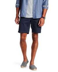 Tailor Vintage | Blue Woven Stretch Fit Short for Men | Lyst
