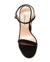 Charles David - Black Regal Platform Sandal - Lyst