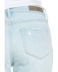 Treasure & Bond - Blue High Waist Ankle Skinny Jeans - Lyst