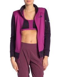 The North Face - Purple Amazie Mays Full Zip Jacket - Lyst