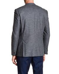 BOSS - Gray Wool Blend Hadley Blazer for Men - Lyst
