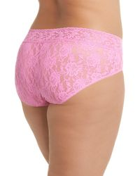 Hanky Panky - Pink French Briefs (plus Size) - Lyst