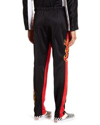 American Stitch - Black Tricot Embroidered Pants for Men - Lyst