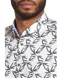 Ted Baker - White Lonpalm Print Sport Shirt for Men - Lyst