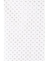 Tibi - White Bell Sleeve Cotton Eyelet Crop Top - Lyst