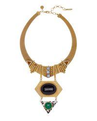 Loren Hope | Metallic Jack Geometric Pendant Necklace | Lyst