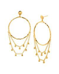 Gorjana - Metallic Sol Drop Earrings - Lyst