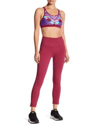 Body Glove - Red Trikonasana Seamless Leggings - Lyst