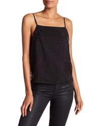 Line & Dot | Black Adele Square Neck Cami | Lyst