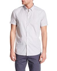 Ted Baker - Gray Micro Stripe Sim Fit Shirt for Men - Lyst