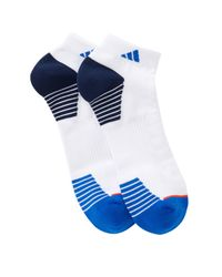 Adidas - White Superlite Compression Low Cut Socks - Pack Of 2 (men) for Men - Lyst