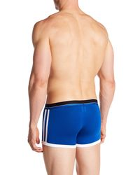 Andrew Christian - Blue Almost Naked Tagless Sports Boxer Brief for Men - Lyst