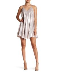 Sequin Hearts - Multicolor Metallic Mini Dress (juniors) - Lyst