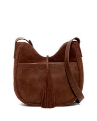 Lucky Brand - Brown Myra Leather Crossbody Bag - Lyst