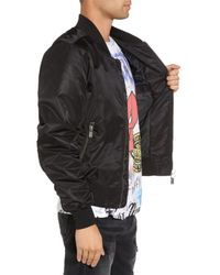 ELEVEN PARIS - Black Ac/dc Bomber Jacket for Men - Lyst
