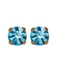 Loren Hope - Multicolor Kaylee Crystal Stone Stud Earrings - Lyst
