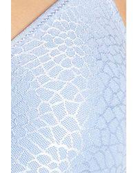 Chantelle | Blue Intimates C Magnifique Underwire Bra | Lyst