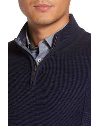 Ted Baker - Blue 'pinball' Modern Trim Fit Sweater for Men - Lyst