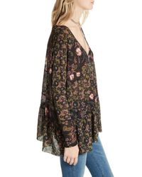 Free People Black Isabelle Tunic