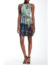 Shoshanna - Blue Adrianne Cutaway Dress - Lyst