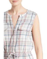 Soft Joie - Multicolor Tawna Plaid Shirtdress - Lyst