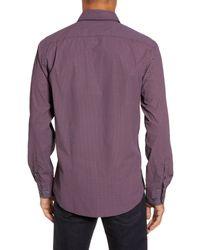 RODD AND GUNN - Purple Ingleton Regular Fit Dot Sport Shirt for Men - Lyst