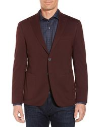 Bugatchi - Purple Regular Fit Blazer for Men - Lyst