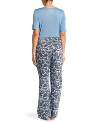 Joe Fresh | Blue Drawstring Pajama Pants | Lyst