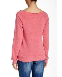 Alternative Apparel - Pink Apparel Fleece Sweater - Lyst