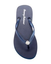 Tommy Bahama - Blue Whykiki Solid Flip-flop - Lyst