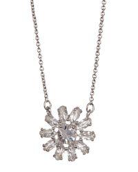 Kate Spade - Metallic Mini Pendant Necklace - Lyst