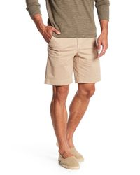 Vintage 1946 - Natural Stretch Twill Shorts for Men - Lyst
