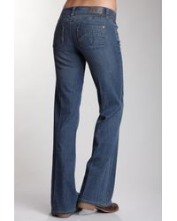 Level 99 - Blue Newport Wide Leg Jean - Lyst