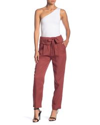 Dex - Red Straight Leg Pants - Lyst
