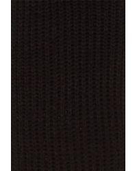 Polo Ralph Lauren - Black Chunky Rib Knit Scarf for Men - Lyst
