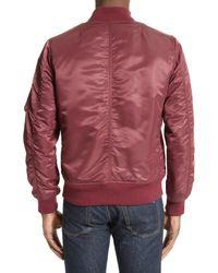 Rag & Bone - Red Manston Bomber Jacket for Men - Lyst