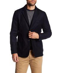 Tocco Toscano - Blue Two Button Notch Lapel Sport Coat for Men - Lyst