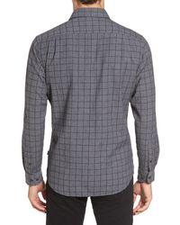RODD AND GUNN - Gray Black Forest Regular Fit Check Sport Shirt for Men - Lyst