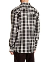 Volcom - Black Bartlett Long Sleeve Shirt for Men - Lyst
