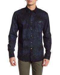 Volcom   Blue Nimes Long Sleeve Shirt for Men   Lyst