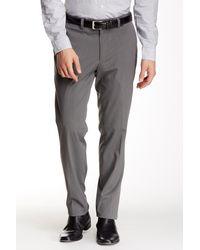 "Louis Raphael | Gray Slim Fit Micro Stripe Pant - 30-34"" Inseam for Men | Lyst"