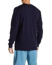Volcom - Blue Circle Kirk Long Sleeve Tee for Men - Lyst