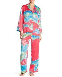 Natori - Multicolor Lian Shirt & Pant Pajama Set - Lyst