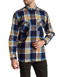Pendleton   Blue Burnside Plaid Classic Fit Shirt for Men   Lyst