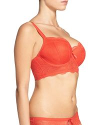 Freya | Red 'fancies' Underwire Longline Bra | Lyst
