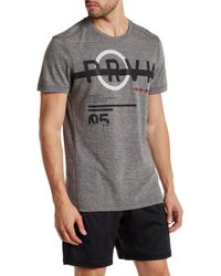 Reebok - Black Crew Neck Crossfit Tee for Men - Lyst