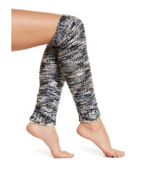 Free People | Blue Mixed Tape Over-the-knee Legwarmer | Lyst