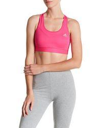 Adidas Originals   Pink Techfit Bra   Lyst